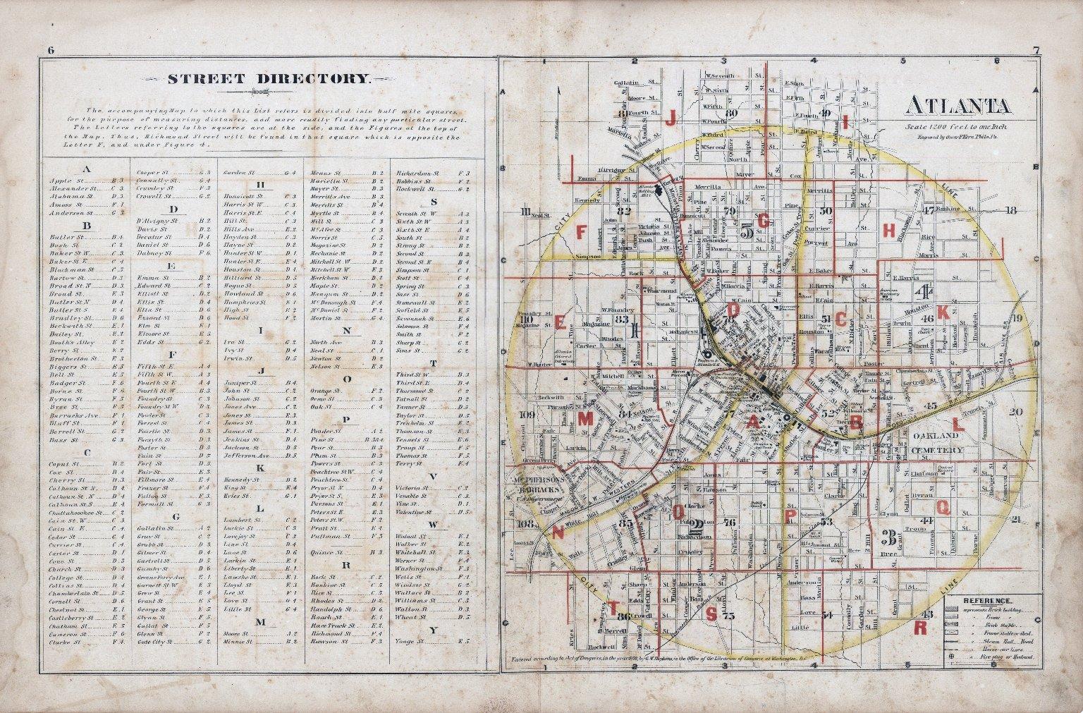 Street Directory: Atlanta